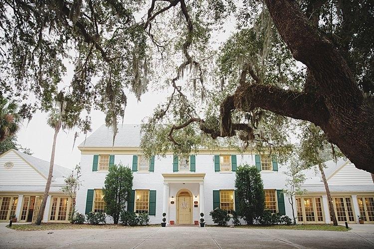 Venue Magical Wedding Ceremony Beneath An Oak Tree Florida http://stephaniew.com/
