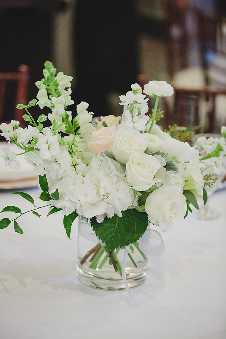 Floral Centrepiece Magical Wedding Ceremony Beneath An Oak Tree Florida http://stephaniew.com/