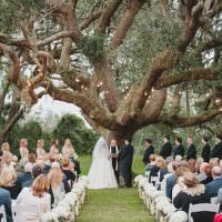 Magical Wedding Ceremony Beneath An Oak Tree Florida http://stephaniew.com/