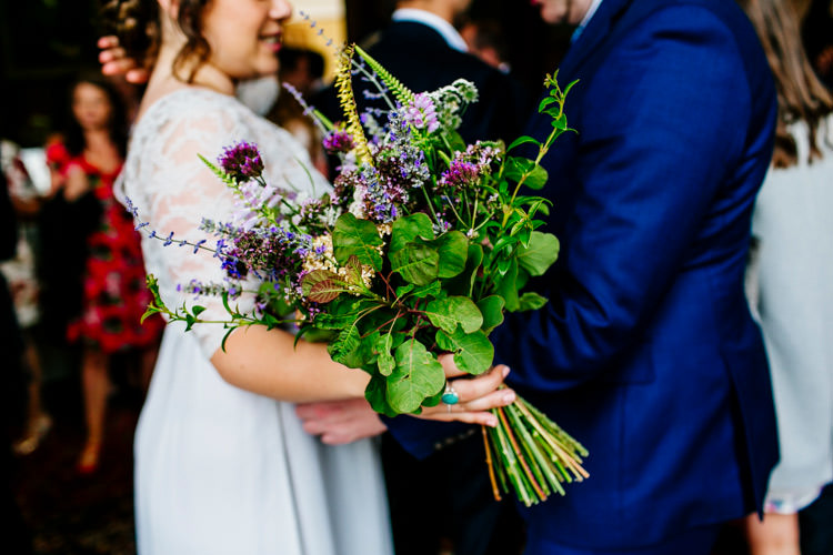 Bride Bridal Bouquet Bridesmaids Lavender Greenery Wild Stylish Sassy Gin Wedding http://epiclovestory.co.uk/