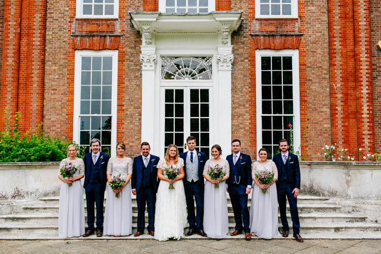 Bride Bridal Dress Gown Charlie Brear Strapless Overdress Belt House of Fraser Bridesmaids Jack Bunneys Groom Groomsmen Three Piece Waistcoat Grey Stylish Sassy Gin Wedding http://epiclovestory.co.uk/