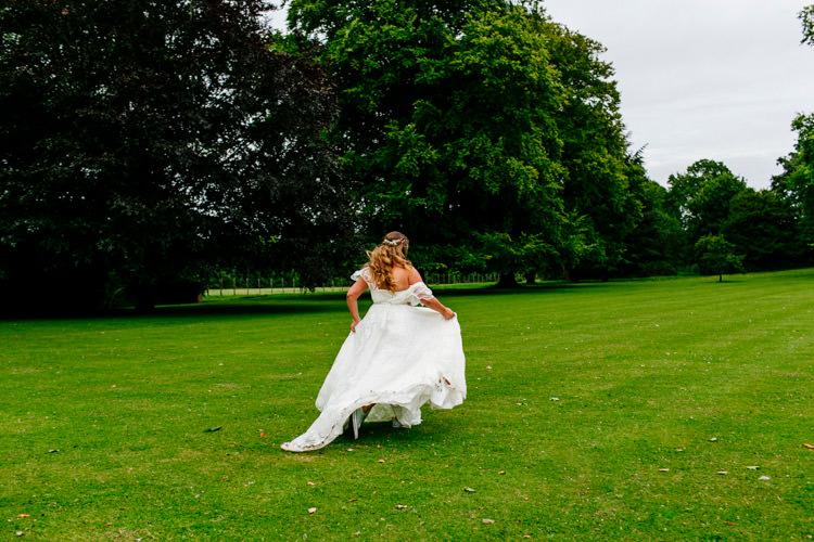 Bride Bridal Dress Gown Charlie Brear Strapless Overdress Belt Stylish Sassy Gin Wedding http://epiclovestory.co.uk/