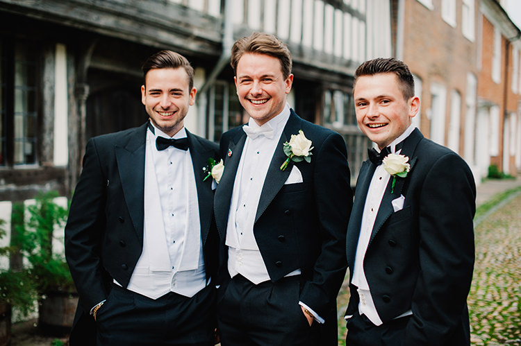 Groom Fashion Suit Black Tie Tails White Waistcoat http://www.jmcsweeneyphotography.co.uk/