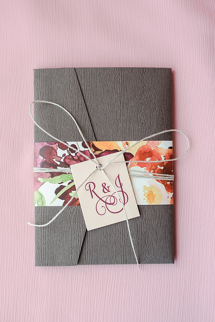 Stationery Invite Romantic Twinkling Garden Wedding http://sarahben.com/