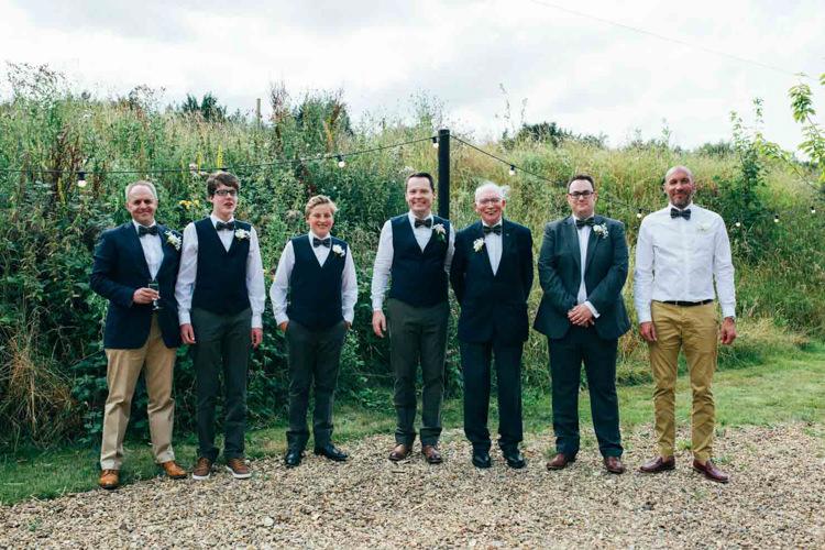 Groom Fashion Suit Bow Ties Waistcoats Groomsmen Best Man Ushers http://emilytylerphotography.com/