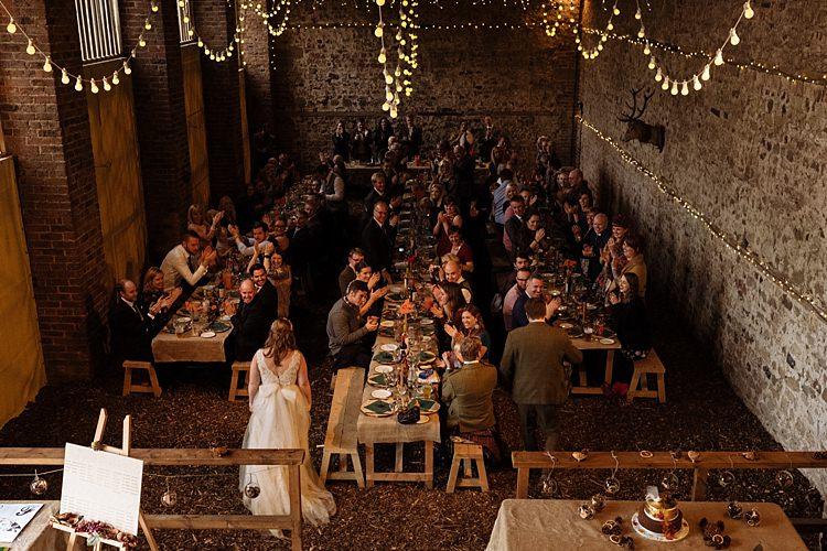 Autumn Inspiration Banquet Wooden Tables Feast Fall Cosy http://toastofleeds.co.uk/