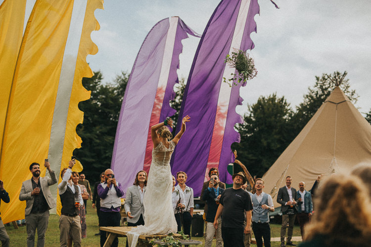 Indie Forest Origami Cranes Wedding http://www.alittlepicture.com/