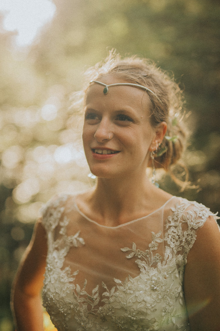 Bride Bridal Forehead Accessory Jewellery Headpiece Indie Forest Origami Cranes Wedding http://www.alittlepicture.com/