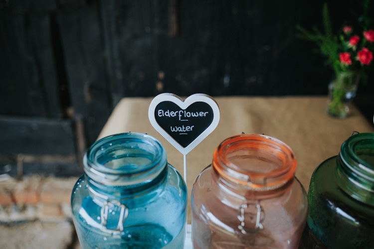 Drink Dispensers Ethereal Alternative Country Barn Wedding Dark Moody Sky http://joshuapatrickphotography.com/