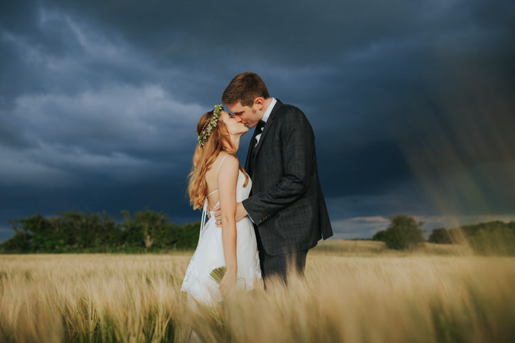 Ethereal Alternative Country Barn Wedding Dark Moody Sky http://joshuapatrickphotography.com/