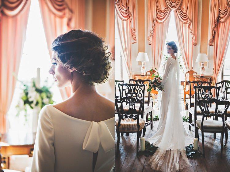 Thoroughly Modern Cecilia Atonement Glamorous 1940s Wedding Ideas http://ikonworks.co.uk/