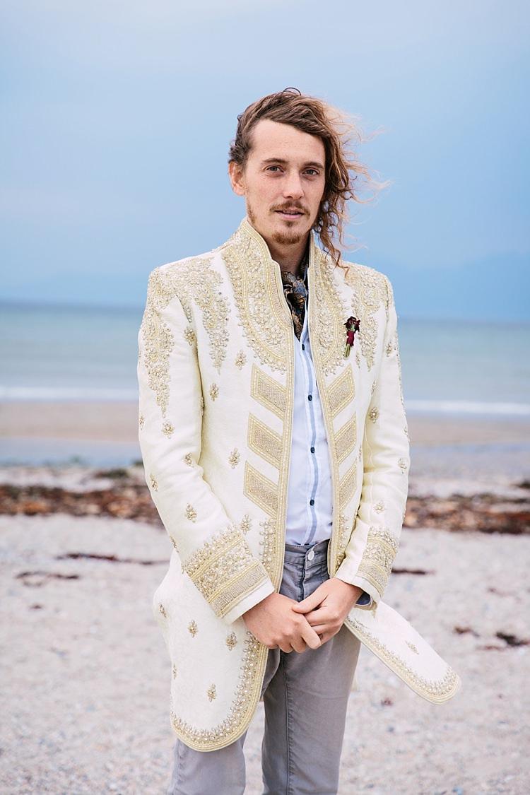 Groom Fashion Suit Indian Wedding Jacket http://sarahannweddings.com/
