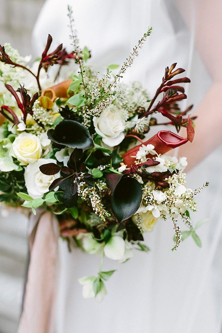 Oxblood Flower Trends Bouquet Wedding Ideas http://www.jettwalkerphotography.com/