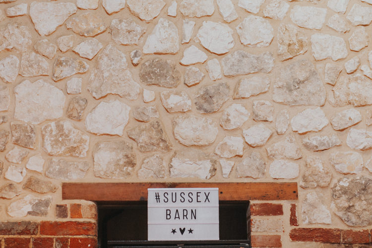 Light Box Hashtag Sussex Barn Beautifully Serene Beachside Barn Wedding https://joshuapatrickphotography.com/