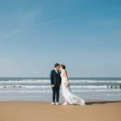 Beautifully Serene Beachside Barn Wedding