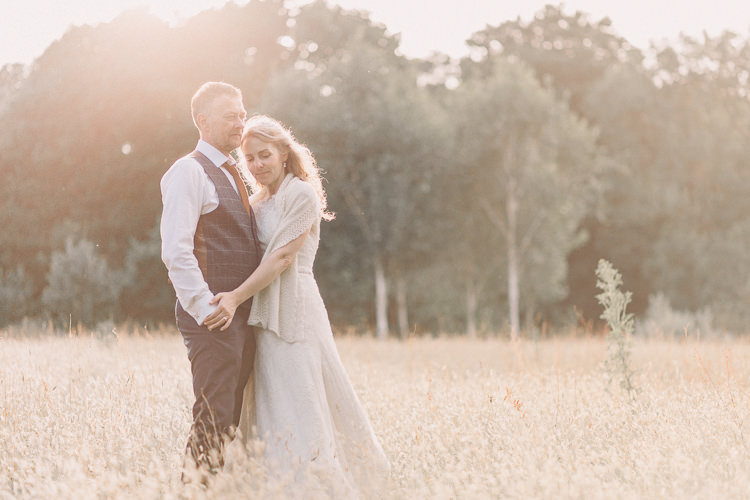 Kate Walker Bride Bridal Dress Gown Veil Moss Bros Groom Tweed Three Piece Waistcoat Woollen ShrugvRelaxed Outdoor Marquee Farm Wedding http://www.jenniferjanephotography.co.uk/
