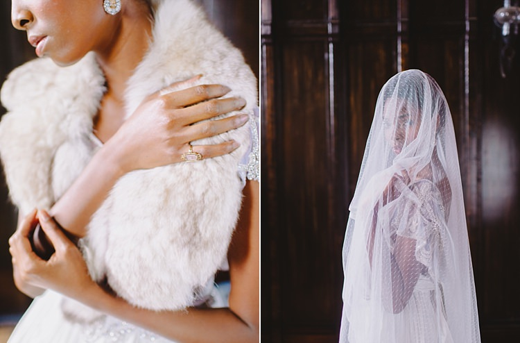 Fur Veil Moody Edwardian Winter Wedding Inspiration http://landmhewitt.com/
