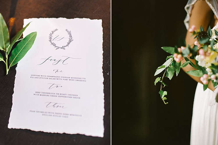 Stationery Moody Edwardian Winter Wedding Inspiration http://landmhewitt.com/