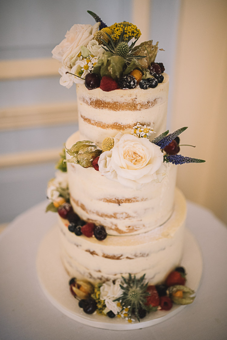 Buttercream Cake Floral Peony Berries https://www.luciewatsonphotography.com/