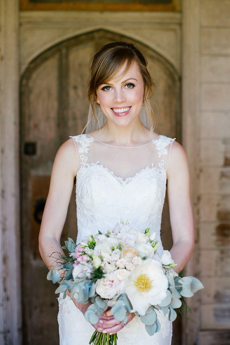 Bride Bridal Make Up Beauty Graceful Country Cottage Garden Wedding https://katherineashdown.co.uk/