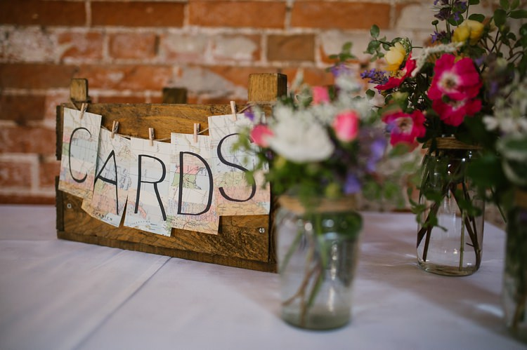 Wooden Card Box Graceful Country Cottage Garden Wedding https://katherineashdown.co.uk/