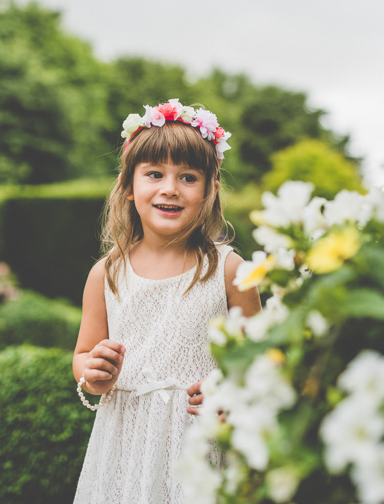 Flower Girl Crochet Dress Quirky Natural Outdoor Festival Wedding http://lighteningphotography.co.uk/