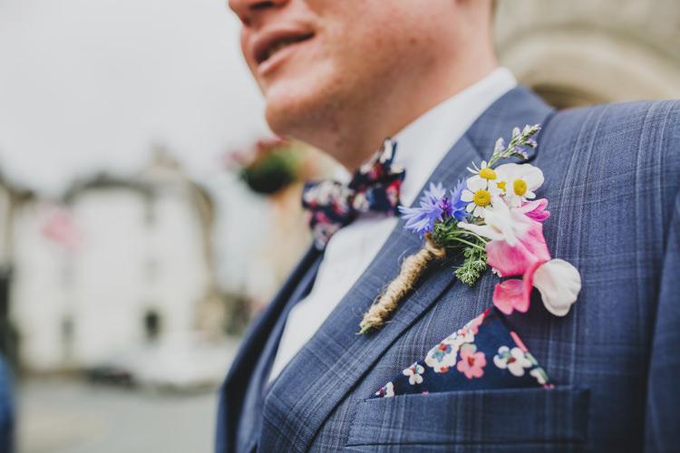 Buttonhole Groom Twine Daisy Flowers Quaint Floral Antique Rustic Wedding http://www.larissajoice.co.uk/