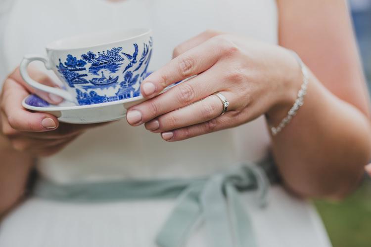 Bride Nails Manicure Natural Quaint Floral Antique Rustic Wedding http://www.larissajoice.co.uk/