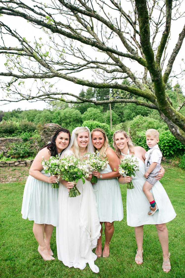 Mint Bridesmaid Dresses Woodland Farm Camp Wedding http://emmastonerweddings.com/
