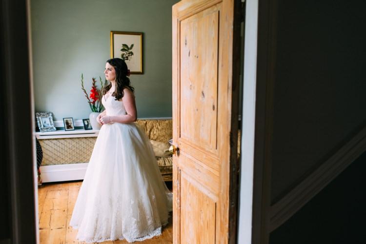 Strapless Dress Gown Pockets Bride Bridal Lace Augusta Jones Colourful Mexican Garden Wedding http://jennifersmithphotography.co.uk/