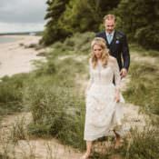 Homely Ethereal & Intimate Country House Wedding