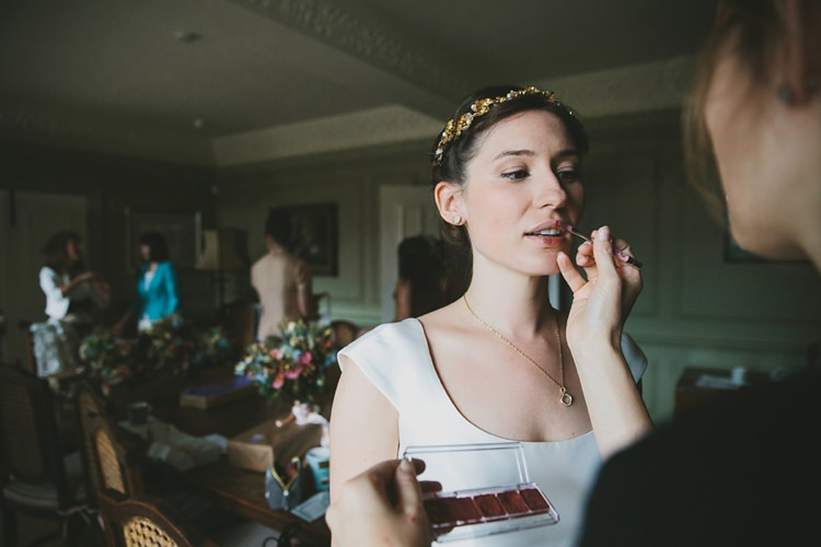 Make Up Bride Bridal Beauty DIY Pretty Pastel Tipi Wales Wedding http://www.mckinley-rodgers.co.uk/
