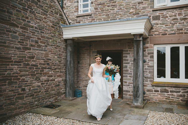 Jesus Peiro Dress Gown Bride Bridal DIY Pretty Pastel Tipi Wales Wedding http://www.mckinley-rodgers.co.uk/