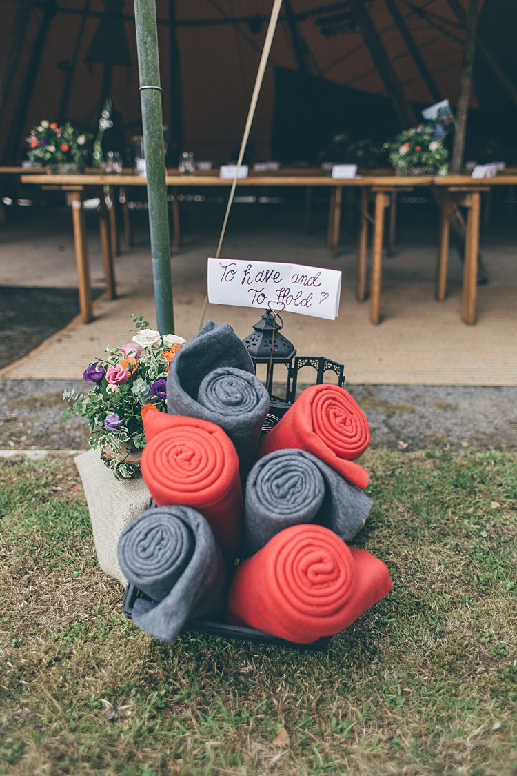 Blankets To Have To Hold Beautiful Floral Bohemian Garden Wedding http://rachellambertphotography.co.uk/