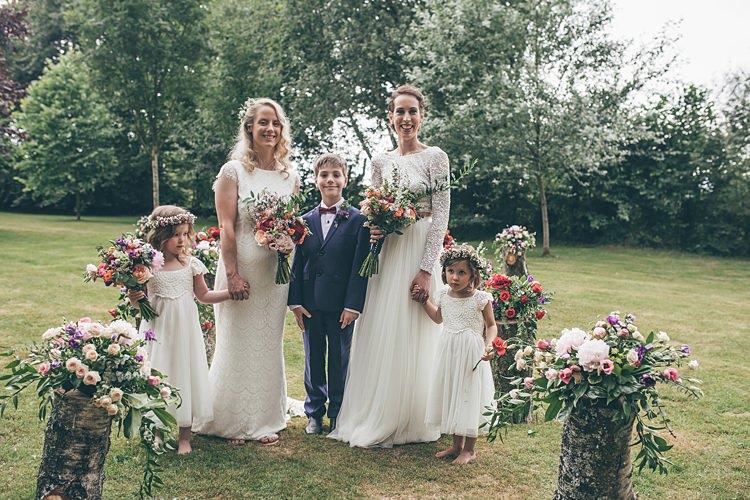 Page Boy Bow Tie Beautiful Floral Bohemian Garden Wedding http://rachellambertphotography.co.uk/