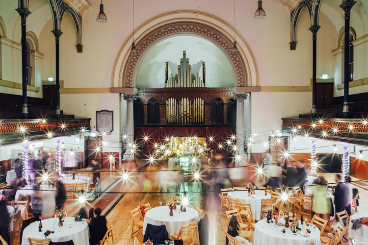 Lighting Hall London Festoons Gold Sequin City Party Wedding http://septemberpictures.com/