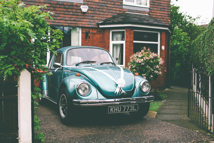 Beetle Car Magical Industrial City Vintage Wedding http://www.emmaboileau.co.uk/