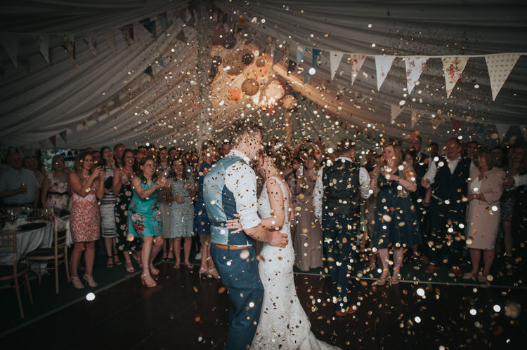 Confetti Bomb Herbs Flowers Home Made Walled Garden Wedding https://www.rosiekelly.co.uk/