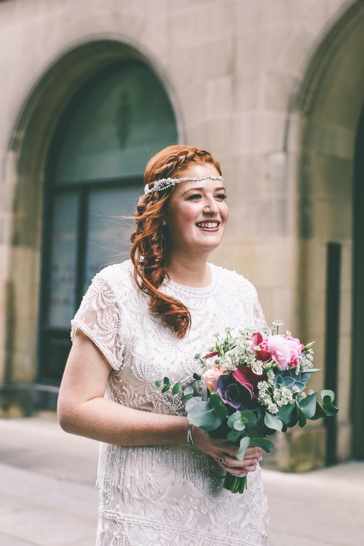 Headpiece Bride Bridal Hair Style Magical Industrial City Vintage Wedding http://www.emmaboileau.co.uk/