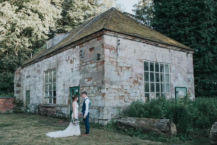 Herbs Flowers Home Made Walled Garden Wedding https://www.rosiekelly.co.uk/