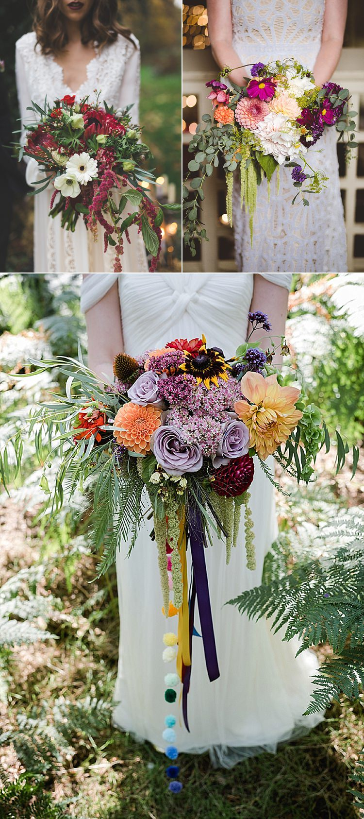 Amaranthus Wedding Flowers Boquet Autumn