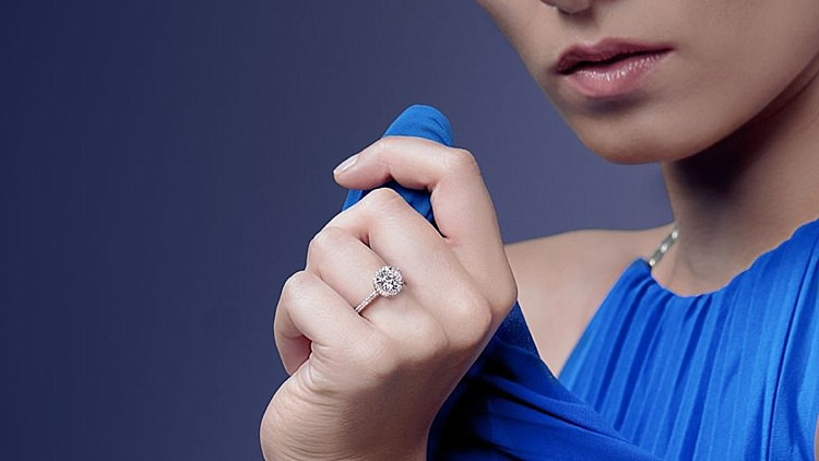Choosing Diamond Engagement Ring Help Blue Nile