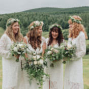 Enchanting Ancient Forest Wedding