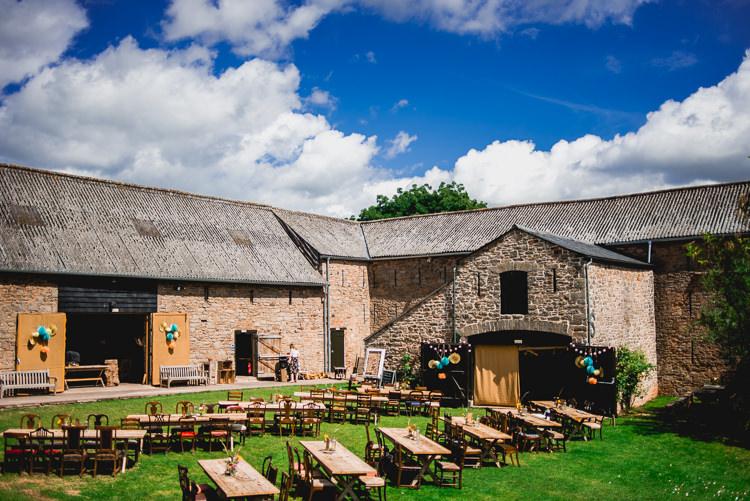 Lyde Court Eclectic Outdoor Barn Wedding https://www.barneywalters.com/