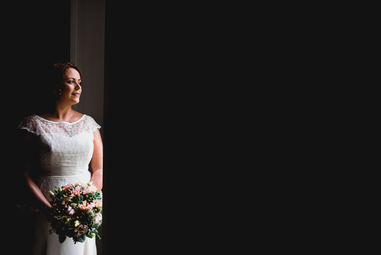 Sassi Holford Cap Sleeve Dress Bride Bridal Gown Eclectic Outdoor Barn Wedding https://www.barneywalters.com/