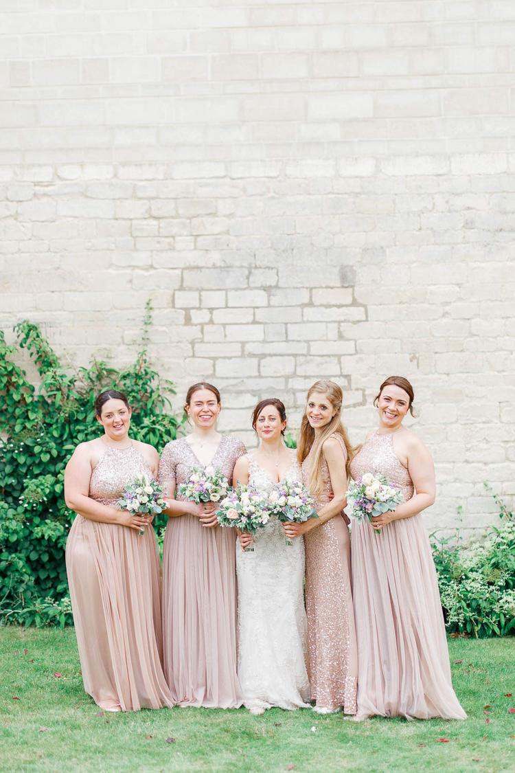 Romantic Rustic Bridesmaid Dresses