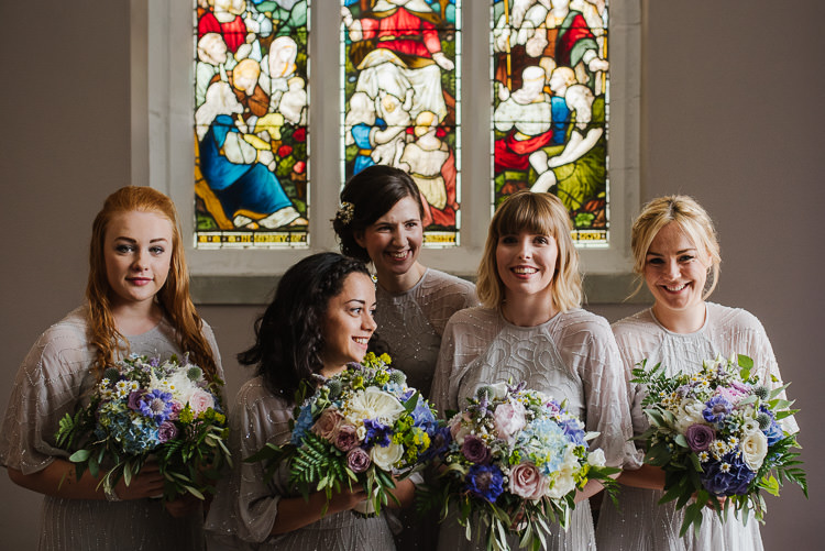 Sequin Beaded Grey Bridesmaid Dresses Sleeves Boho Funfair Floral Country Wedding https://www.jonnybarratt.com/