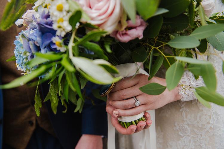 Bouquet Bride Bridal Nails Engagement Ring Boho Funfair Floral Country Wedding https://www.jonnybarratt.com/