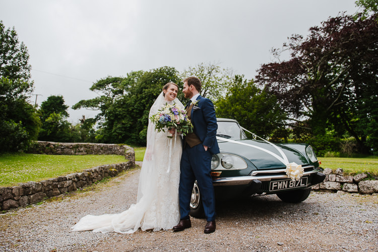 Green Classic Car Boho Funfair Floral Country Wedding https://www.jonnybarratt.com/
