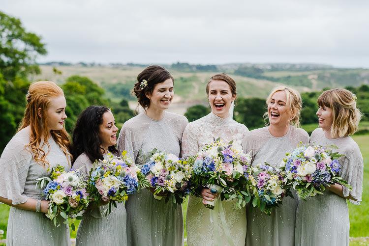 Beaded Sequin Grey Bridesmaid Dresses Sleeves Boho Funfair Floral Country Wedding https://www.jonnybarratt.com/
